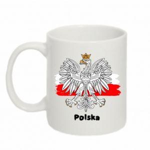 Kubek 330ml Herb Polski