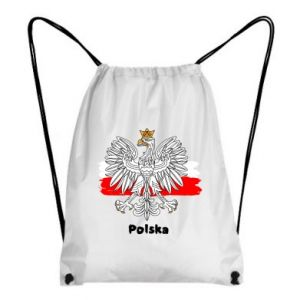 Backpack-bag Polish emblem