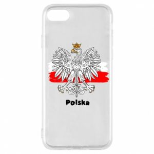 Etui na iPhone 8 Herb Polski