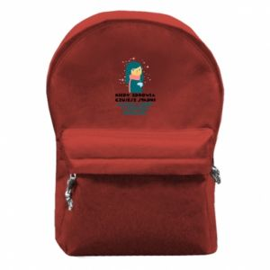 Plecak z przednią kieszenią HERBATKA Z IMBIREM