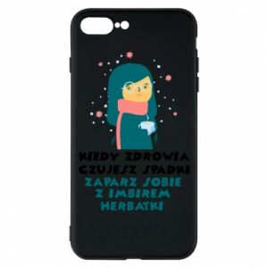 Etui do iPhone 7 Plus HERBATKA Z IMBIREM