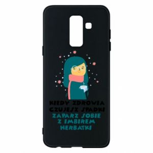 Etui na Samsung A6+ 2018 HERBATKA Z IMBIREM