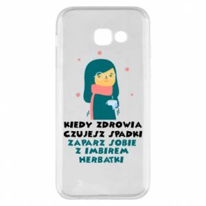 Phone case for Samsung A5 2017 GINGER TEA