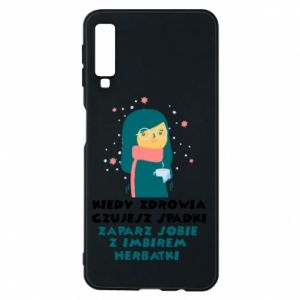 Phone case for Samsung A7 2018 GINGER TEA