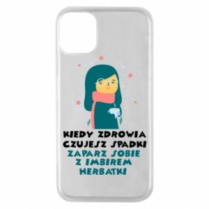 Phone case for iPhone 11 Pro GINGER TEA