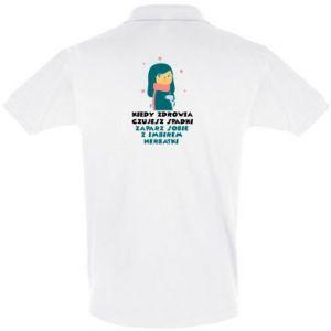 Koszulka Polo HERBATKA Z IMBIREM
