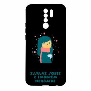 Etui na Xiaomi Redmi 9 HERBATKA Z IMBIREM
