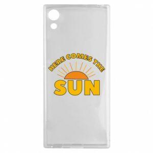 Etui na Sony Xperia XA1 Here comes the sun