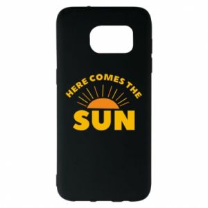 Etui na Samsung S7 EDGE Here comes the sun