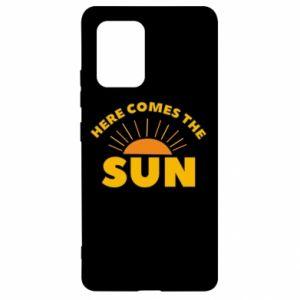 Etui na Samsung S10 Lite Here comes the sun