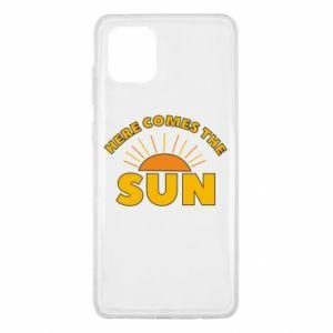 Etui na Samsung Note 10 Lite Here comes the sun
