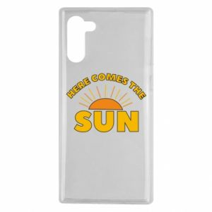 Etui na Samsung Note 10 Here comes the sun