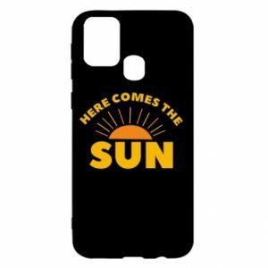 Etui na Samsung M31 Here comes the sun