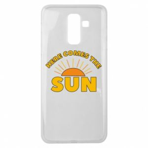 Etui na Samsung J8 2018 Here comes the sun