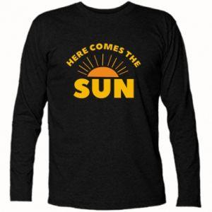 Koszulka z długim rękawem Here comes the sun