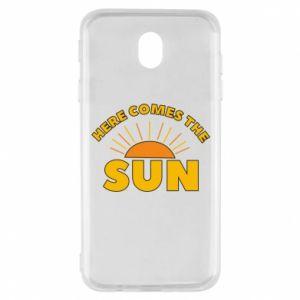 Etui na Samsung J7 2017 Here comes the sun