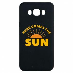 Etui na Samsung J7 2016 Here comes the sun