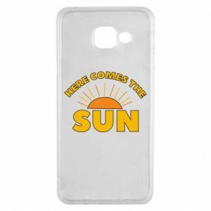 Etui na Samsung A3 2016 Here comes the sun