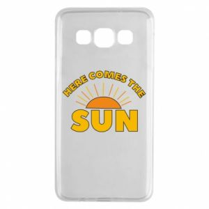 Etui na Samsung A3 2015 Here comes the sun