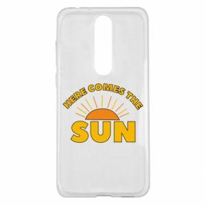 Etui na Nokia 5.1 Plus Here comes the sun