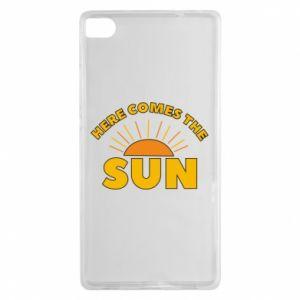 Etui na Huawei P8 Here comes the sun