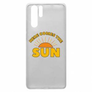 Etui na Huawei P30 Pro Here comes the sun