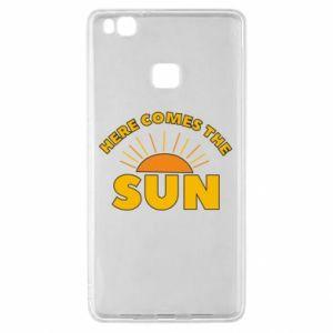 Etui na Huawei P9 Lite Here comes the sun