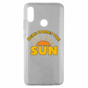Etui na Huawei Honor 10 Lite Here comes the sun