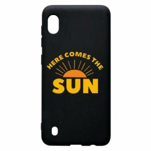 Etui na Samsung A10 Here comes the sun
