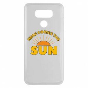 Etui na LG G6 Here comes the sun