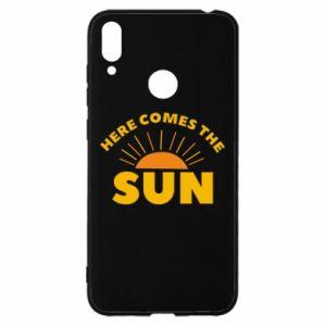 Etui na Huawei Y7 2019 Here comes the sun