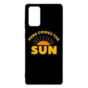 Etui na Samsung Note 20 Here comes the sun