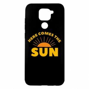 Etui na Xiaomi Redmi Note 9/Redmi 10X Here comes the sun