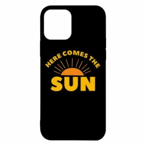 Etui na iPhone 12/12 Pro Here comes the sun