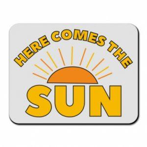 Podkładka pod mysz Here comes the sun