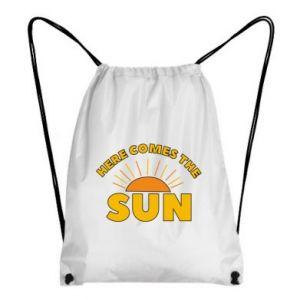 Plecak-worek Here comes the sun