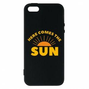 Etui na iPhone 5/5S/SE Here comes the sun