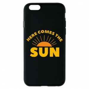 Etui na iPhone 6/6S Here comes the sun