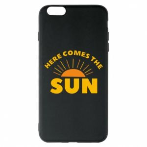 Etui na iPhone 6 Plus/6S Plus Here comes the sun