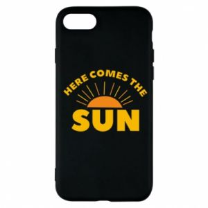 Etui na iPhone 7 Here comes the sun