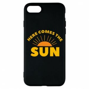 Etui na iPhone 8 Here comes the sun