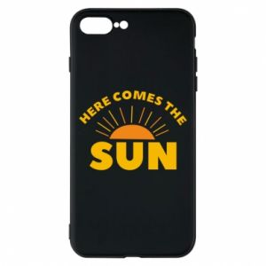 Etui na iPhone 8 Plus Here comes the sun