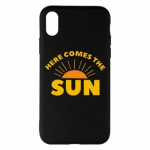 Etui na iPhone X/Xs Here comes the sun