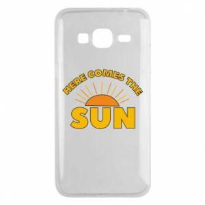Etui na Samsung J3 2016 Here comes the sun