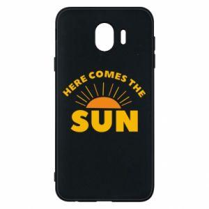 Etui na Samsung J4 Here comes the sun