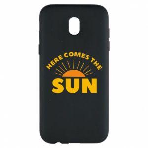 Etui na Samsung J5 2017 Here comes the sun
