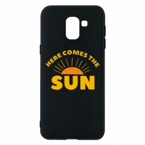 Etui na Samsung J6 Here comes the sun