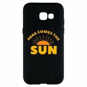 Etui na Samsung A5 2017 Here comes the sun
