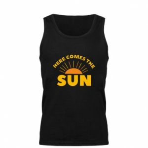 Męska koszulka Here comes the sun