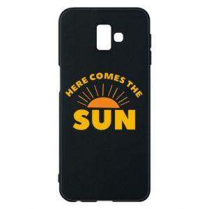 Etui na Samsung J6 Plus 2018 Here comes the sun